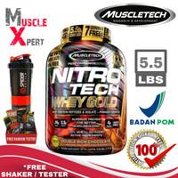 Muscletech Nitrotech Whey Gold BPOM Muscletech Nitrotech Gold Whey ORI