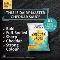 Dairy master cheddar sauce - saus keju 1kg