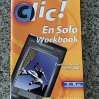 Buku bahasa perancis Clic en solo ( WB )