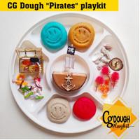 CG Dough Pirates playkit / paket bermain playdough tema Bajak Laut