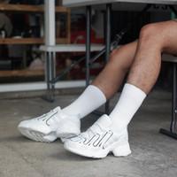 Sepatu original adidas eqt gazelle crystal white