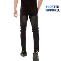 Hipster celana jeans warna black wash