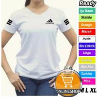 Baju Senam Aerobik wanita / kaos joging cewek / baju olahraga fitnes