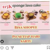 Lumiere sponge lava cake kue asix