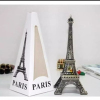 New pajangan Miniatur menara Eiffel/eifel tower paris