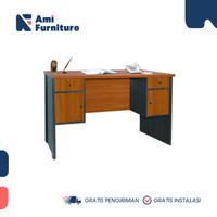 Meja kantor meja biro meja kerja MTB 040107 merk OLYMPIC