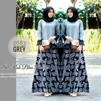 Baju wanita set rok batik blouse renda Balotelli rnb 2682