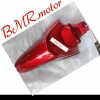 spakbor depan honda beat karburator 2010-2012 maron