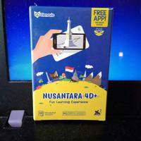 Flash card 4D+ Nusantara dengan Fitur Augmented Reality