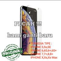 Anti Gores Tempered Glass Iphone 5 / iphone 5s / iphone 5c