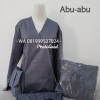 Baju Ok/Lengan Panjang / Abu-abu/Merk Dua Saudara