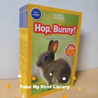 20 books/set National geographic pre-reader Kids book animal buku anak