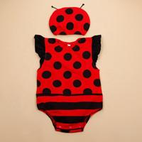 Baju Baby New Born Unisex Karakter Bug Suncloud - 3-6 Bulan