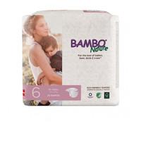 bambo nature dream xl size 6 tape diaper