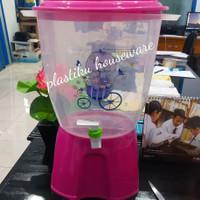 Galon Air Minum / Galon Keran / Dispenser Air Minum Mini 11 Liter - Merah Muda