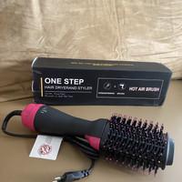 2 in 1 HAIR DRYER AND STYLER HOT AIR BRUSH Sisir Blow Rambut