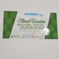 Voucher Travel Astrindo IDR 500.000