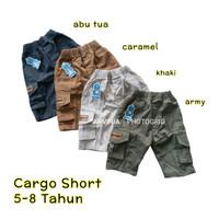 Celana Cargo Pendek Anak 5 6 7 8 Tahun Bahan Twill Bagus Murah