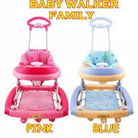 KHUSUS JNE,Sicepat-Baby Walker Family BW 2121-Alat bantu berjalan baby