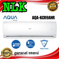 ac AQUA JAPAN 1pk AQA - KCR 9 ANR low watt +pasang instalasi 1 pk 9ANR