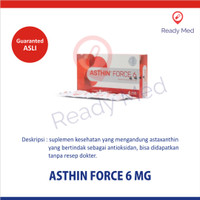 ASTHIN FORCE 6 MG isi 18