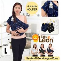 Geos Gendongan Bayi Branded Baby Leon Premium Motif Star/Jangkar