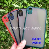 IPHONE XR FUZE SLIM CASE ANTI CRACK MACARONE DOFF/MATTE TRANSPARAN
