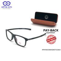 Frame Kacamata Pria PayBack Magnetik 3004 original