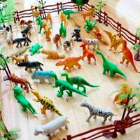 Mainan Anak Set Miniatur Kebun Binatang dan Dinosaurus - ZOO ANIMAL