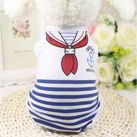 tshirt baju pakaian fashion anjing kucing murah dog cat cloth sailor