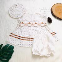 Dress Bayi - Petite Story - Apple Dress Set