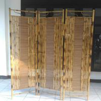 Pembatas ruangan/Sketsel/Partisi dari Bambu Cendani Jogjakarta