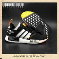 Sepatu Original Adidas NMD R1 Off White Nast BNIB