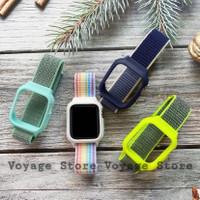 CASE STRAP kanvas 38mm 44mm Bumper sport loop apple watch iwatch 5 4