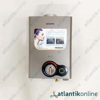 Water heater pemanas air gas 6 Liter MODENA Rapido GI 0620 B GI0620B