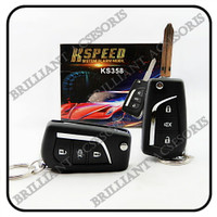 Alarm Mobil Universal K-SPEED Remote Kunci - Premium Class