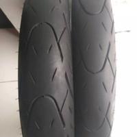 sepasang ban matic tubles merk Corsa 80/90 90/90 ring 14