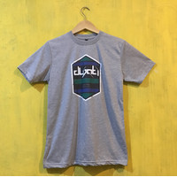 Kaos Katun Distro Grey