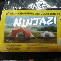 tenda camping 10 orang chanodug
