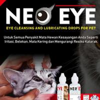 Neo Eye mengobati mata pada kucing anjing belekan iritasi katarak