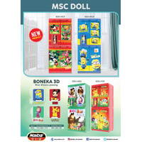 Lemari Plastik MSC Doll Non Premium Naiba
