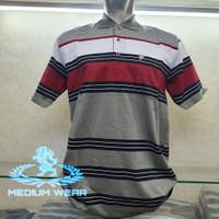 Kaos Kerah Salur Saku / Polo shirt