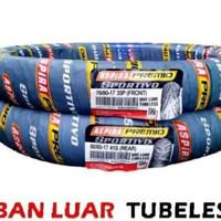 1 SET BAN ASPIRA PREMIO SPORTIVO TUBLES UK 70/80-17 & 80/80-17