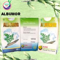 Herbal obat Albumor 40 kapsul per botol albumor obat herbal albumor