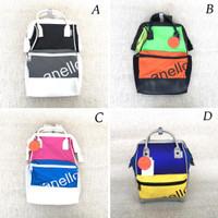 Backpack Tas Ransel wanita Annelo 90s mouthpiece medium backpack