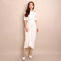 DRESS DRESSIKAL (317) - Pakaian Wanita Dress Import Christmas Imlek