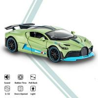 1:32 Bugatti Divo Die Cast Mobil Koleksi Anak Hadiah Ulang Tahun Anak