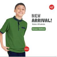 Baju Koko dan Celana warna Green / Hijau sz S, M, L dan XL by Afrakids