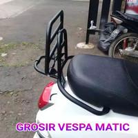 Back rack/Aksesoris Vespa/Vespa new Sprint original terbaru