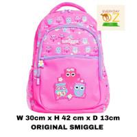 Smiggle DeJavu Backpack Pink Original Smiggle